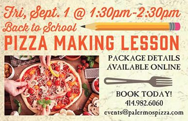 Back-to-School Pizza-Making Fun