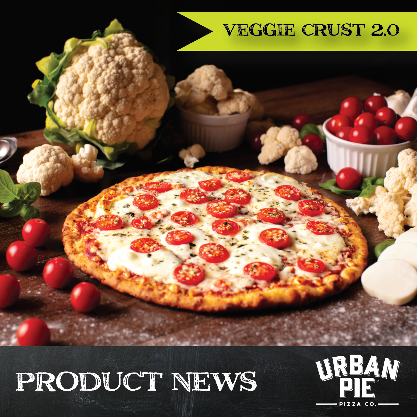 The Next Big Thing in Veggie Crust Pizza Has Arrived