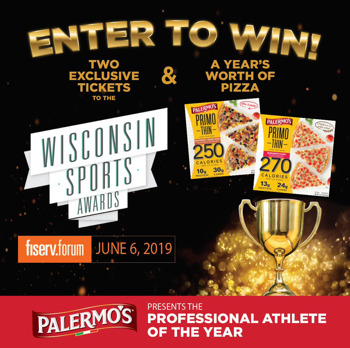 Join Palermo's at the Wisconsin Sports Awards