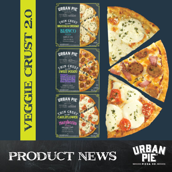 Urban Pie Veggie Crusts Now Available Nationally