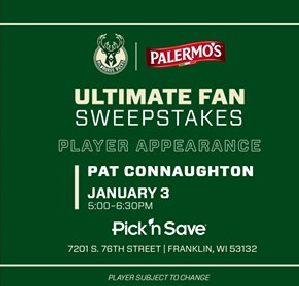 Meet Milwaukee Bucks Player Pat Connaughton Jan. 3