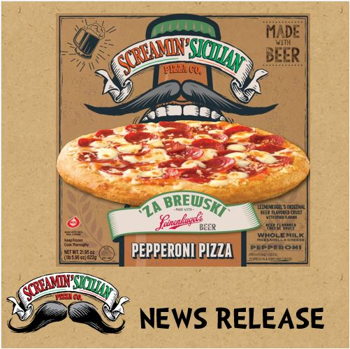 Screamin' Sicilian and Jacob Leinenkugel Brewing Company Team Up for New Line of Wisconsin-Style, Beer Crust Pizzas