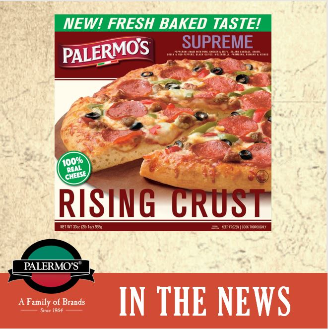 Palermo's Brings Back Rising Crust Pizza