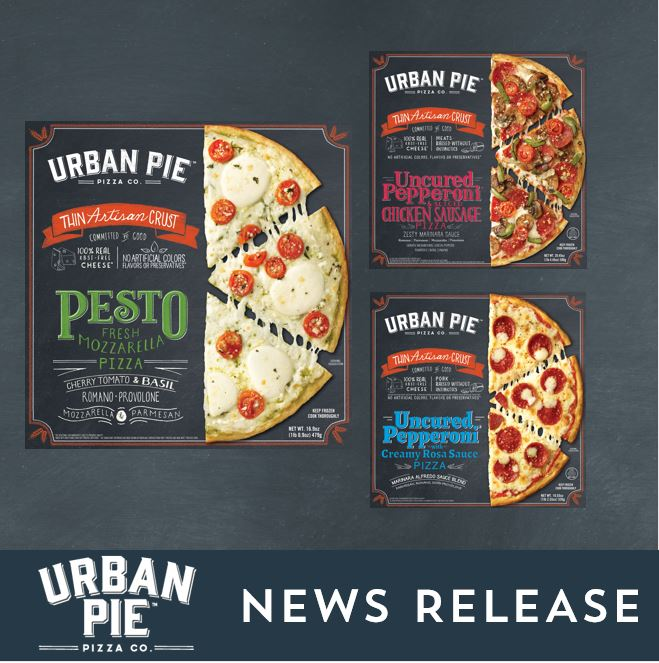 Urban Pie Pizza Co. Now Available at Whole Foods